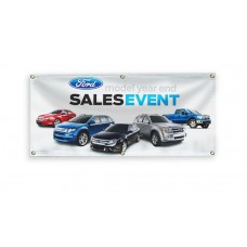 3ft x 6ft Custom Printed 13oz Vinyl Banner - FINISHED
