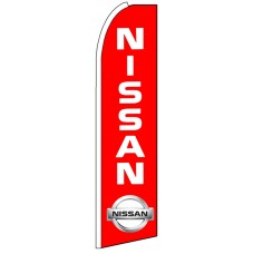 Nissan - Advertising Feather Flag Banner