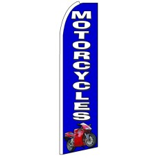 Motorcycles - Advertising Feather Flag Banner